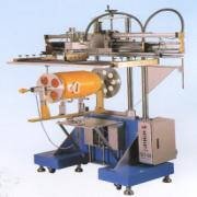 HEAVY DUTY PNEUMATIC CURVE SCREEN PRINTING MACHINE