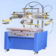 LARGE FORMAT PNEUMATIC FLAT SCREEN PRINTING MACHINE