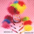Feather Mechanical Touchable Bubble Pencil