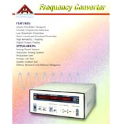 Frequency Converter / AC Power Source