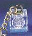 3D Laser Engraved Crystal Key Chain KL- Series