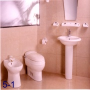 CL1359/L2360/P2437/B1060 ONE-PIECE CLOSET/WASH BASIN/PEDSTAL/BIDET (CL1359/L2360/P2437/B1060 One-Piece ШКАФЫ / промывочного бассейна / PEDSTAL / биде)