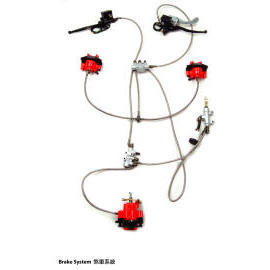ATV Brake System (ATV Тормозная система)