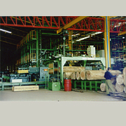 Plywood Production Line Front Section Equipment (Sperrholz Production Line Front Bereich Technik)
