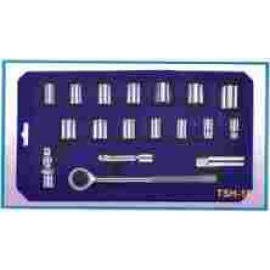 18 PCS SOCKET SET (18 шт SOCKET SET)