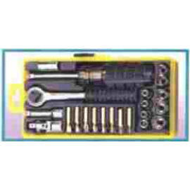 23 PCS BIT & SOCKET SET