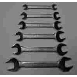 6 PCS DOUBLE OPEN WRENCH SET (6 шт DOUBLE OPEN торцевых ключей)