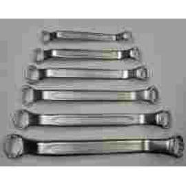 6 PCS OFFSET RING WRENCH SET (6 шт OFFSET RING WRENCH SET)