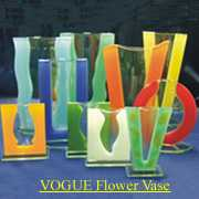 FLOWER VOGUE (GLASS VASE)