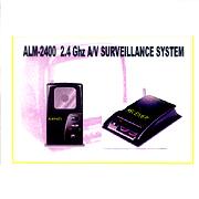 ALM-2400 2,4 GHz Wireless A / V-System zur Überwachung von (ALM-2400 2,4 GHz Wireless A / V-System zur Überwachung von)
