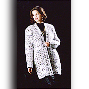 Ladies 7G Knitted Cardigan
