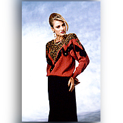 Ladies 3G Knitted Pullover