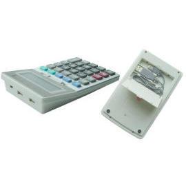 USB Calculator Key Pad with 2 hubs