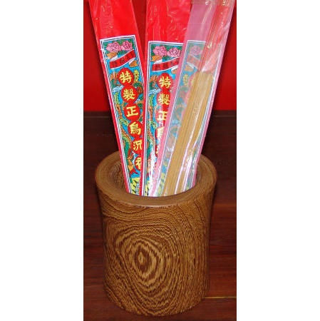 wood carving,joss stick tubular,penholder
