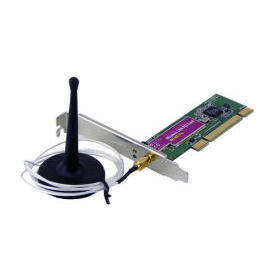 IEEE802.11g 54Mb Wireless PCI Adapter w/94 cm cable length of RP-SMA connector (IEEE802.11g 54Mb Wireless PCI Adapter w/94 см кабелем длиной RP-SMA разъем)