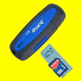 USB Flash Drive with Card Reader / USB Card Reader Disk / Flash Disk / Pen Drive