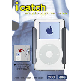 iPod click holder
