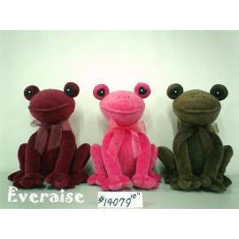 Plush and Stuffed Frogs (Плюшевые и фаршированные Лягушки)