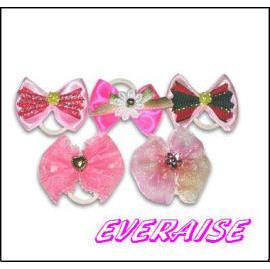Pink Bow / Hair Ornament (Розовый лук / Волосы Орнамент)