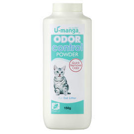 U-manga Cat Litter Deodorizer Powder (U-Манга кошачьих туалетов Deodorizer порошковые)