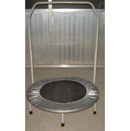 36``Trampoline with handrail
