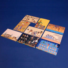 Animation Scenes Postcard Set