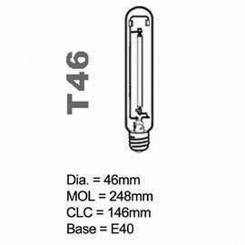 HPS Lamp T type 250W