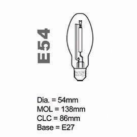 HPS Lamp E type 50W