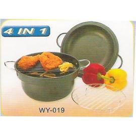 grill Non-stick pot (Гриль антипригарным банка)