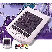 SM-2100 3-in-1 Input Pad (СМ 100 3-в  Входной Pad)