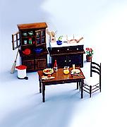 Doll house series including scale 1:12 miniature furniture & miniature accessori (Кукольный дом серий, включая масштаб 1:12 миниатюрная мебель & миниатюрный ACCESSORI)
