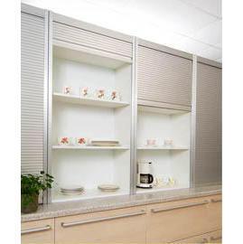 Küche Aluminiumgehäuse Schrank Rollladen (kitchen aluminum ...