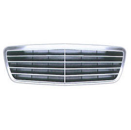W210 GRILLE ASSY 00- (9 STRIP)