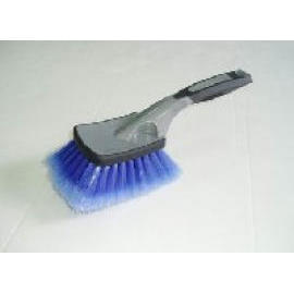 10-1/4`` SQUARE SHORT HANDLE FENDER BRUSH-SOFT GRIP