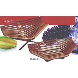 BAMBOO FRUIT BASKET (Бамбуковый Корзина с фруктами)