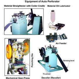 Auto Perforating System, Punching Machine (Автоматическая система перфорации, штамповочный пресс)
