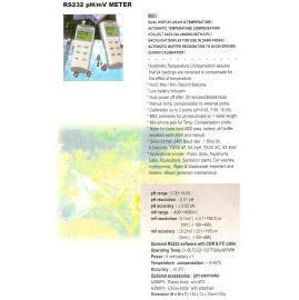 pH/mV METER (рН / мВ METER)