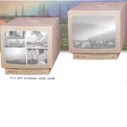 B/W Monitor with Quad display capability (Ч / Б монитор с возможностью отображения Quad)