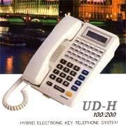 Hybrid Electronic Key Telephone System.(UD-H 100/200)