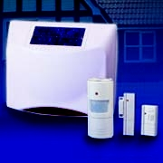 HA69U Solar Wireless Alarm System