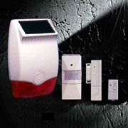 HA65U Solar Wireless Alarm System
