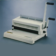 Plastic (Manual & Electric) and Wire Punch-Bind Machine