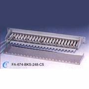 FA-674BKS-168/248-C5 STP Patch Panel (FA-674BKS 68/248-C5 STP патч-панель)
