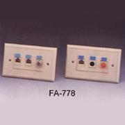 FA-778-1 DATA/TELE Communication Outlets (FA-778  DATA / Tele виды коммуникаций)