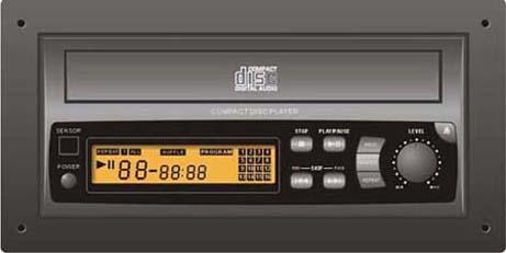 PA Amplifier Assembly Parts : CD Player (PA Усилитель Ассамблеи частей: CD-плейер)