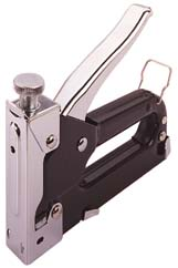HEAVY DUTY STAPLE GUN TACKER, LARGE