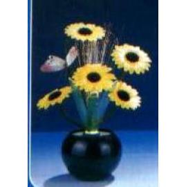 Fiber Flower Lamp