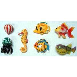 Plastic Aquarium Fish (Пластиковые аквариумных рыбок)