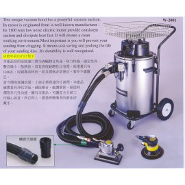 Automatic Cyclone type Vacuum Hood