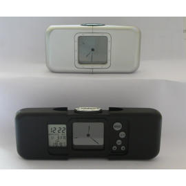 Travelling Alarm Clock ( Twin / Transparent Display )